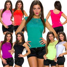 Camisas y tops de mujer Camiseta corta talla S