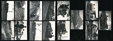 GB STANTON GATE DERBYSHIRE RAILWAY 1947 B.T COOKE HANDSTAMPS...14 PHOTOS