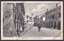 MANTOVA POGGIO RUSCO 02 POMPA BENZINA ESSO MOBILOIL Cartolina viaggiata 1957