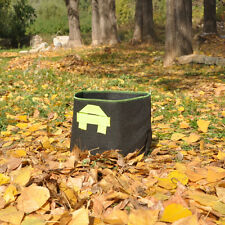 5PCS x 10 Gallon Fabric Grow Pots Grow Bags Smart Dirt Plant with 2 Nylon Handle