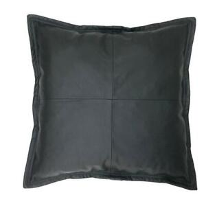 Genuine Leather Pillow Cover, Cushion Pillow Cover, Living Decor, Home Decor
