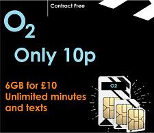 02 SIM CARD NANO MICRO 3IN1 TRACKER SMART WATCH GSM 2G PAYG PET 4G NEW O2
