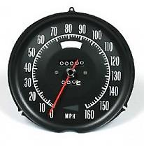 1972-1974 Chevrolet Corvette Speedometer - Complete