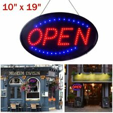 Ultra Bright Led Neon Light Sign Open Store Bar Cafe Animated Motion with On/Off