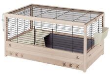 Ferplast Aréna 100 Cage Lapin en bois x 62 5 51 cm Noir