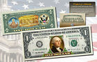 * MUST SEE * Genuine Legal Tender COLORIZED 2-Sided $1 One-Dollar U.S. Bill