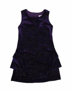 NWT Florence Eiseman girl holiday dress  sleeve NEW 8 14 16 Choice Purple
