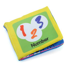 KIDS Intelligence development Cloth Bed NUMBER Cognize Book Educational Toy