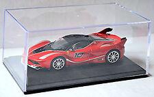 Ferrari FXX-K V12 #10 coupé 2015-16 Vitrina de PC caja presentación rojo 1:43