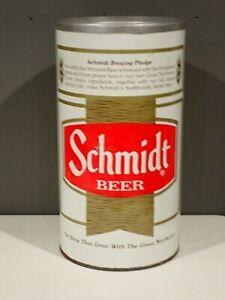 Vintage Schmidt Beer Metal Tin Floor Ashtray