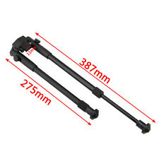12''-15'' Adjustable Barrel Clamp On Mount Adjustable Tactical Rifle Bipod