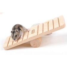 Hamster Nonslip Wooden Seesaw Teeterboard Rabbit Gerbil Rat Pet Toy