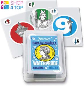 Fournier Baraja Espanola Waterproof Kartenspielen Deck Plastic Magic Tricks New