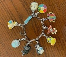 Webkinz Charm Bracelet and 9 Charms
