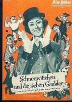 """IFB Illustrierte Film Bühne Nr. 6340 """" Schneewittchen und die sieben Gaukler """""""
