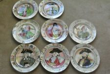 "8 Royal Doulton ""The Professionals"" plates, Admiral, Falconer, Mayor, Squire."