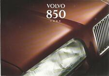 VOLVO 850 Bedienungsanleitung 1995 Betriebsanleitung Handbuch Bordbuch  BA