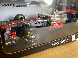 Minichamps 1/18 McLaren Showcar 2011 Jenson Button