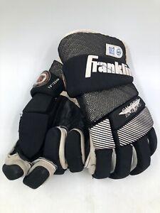 """Franklin Street Hockey Gloves Adult Small / Medium 13"""" SH PRO 2550 - Vintage 90s"""