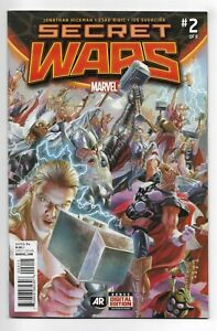 Secret Wars #2 Marvel Comics 2015 VF+