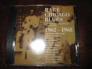 RARE CHICAGO BLUES - 1962 - 1968 - CD ROUNDER