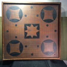 Antique Primitive Two Sided Game Board Native Wood