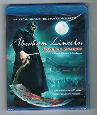 ABRAHAM LINCOLN - TUEUR DE ZOMBIES - RICHARD SCHENKMAN - BLU-RAY - NEUF NEW