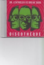 Dr Lektroluv VS Break 3000-Discotheque promo cd single