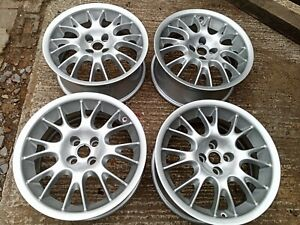MGF MG TF - 16in Hairpins Alloy wheels x4 Refurbished, stunning sparkle silver