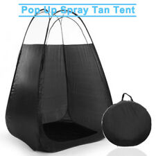 Portable Spray PopUp Tanning Tent Mobile Tan Booth Washable Clear Roof Carry Bag