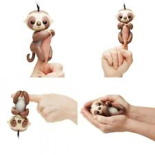 NEW in Box Fingerlings Kingsley The Interactive Baby SLOTH Brown WowWee SO CUTE!