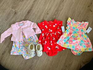 Carter's NWT/NWOT BABY GIRL 3 Mo. Spring/Summer Dress Lot