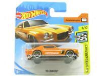 Hotwheels 70 Camaro Hotchkiss 7/10 Short Card 1 64 Scale Sealed