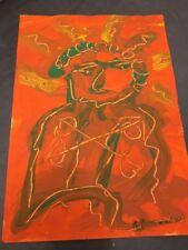 """Öl auf Malgrund, """"Abstrakt"""", sign.: R. Baerwind, datiert '79"""