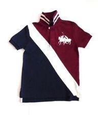 Magliette, maglie e camicie con polo per bambini dai 2 ai 16 anni taglia 2 anni 100% Cotone