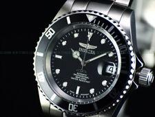 EUC Invicta Mens 40mm Pro Diver 9937 Swiss Automatic Coin Edge Black Dial Watch