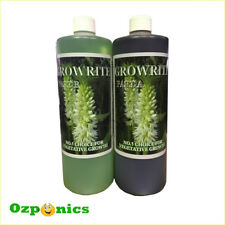 HYDROPONICS 1 LITRE GROWRITE A&B Vegatative Growth Nutrients For Indoor Garden