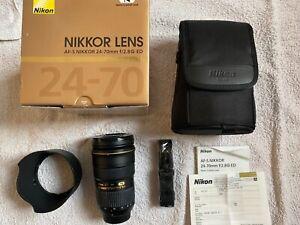 Nikon NIKKOR AF-S 24-70mm f2.8G ED, sehr guter Zustand!