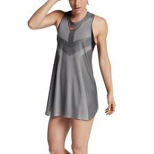 b58ab330d19 Womens Nike Court Dry Slam Tennis Dress Size S (854883 073) Grey