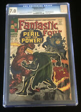 JERRY WEIST ESTATE: FANTASTIC FOUR #60 (Marvel 1967) CGC 7.0 (FN/VF) NO RED