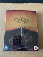 THE CABIN IN THE WOODS LIMITED EDITION 4K UHD BLU RAY STEELBOOK NEW & SEALED