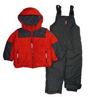 Osh Kosh B'gosh Boys Red & Gray Snowsuit Size 4 5/6 7