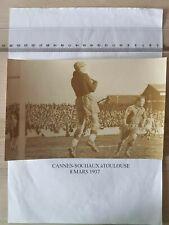 PHOTO authentique AS Cannes vs FC Sochaux du 8 mars 1937
