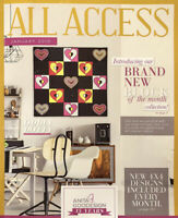 Anita Goodesign ALL ACCESS JANUARY 2019 12-Collections CD ONLY $450 List!
