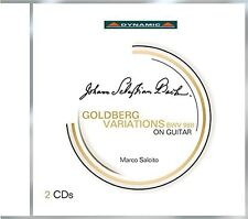 Bach / Salcito - Goldberg Variations for Guitar [New CD]