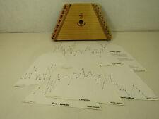 Nepenenoyka The Music Maker Lap Harp Instrument 12 Song Tuning Card