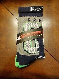 "Seattle Seahawks ""88 Grahams"" socks (Mens,XXS, Gray)"