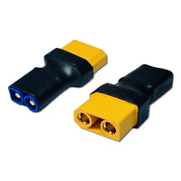 2x Adapter XT90 Buchse Female auf EC3 Stecker Male Goldstecker Adapterstecker RC