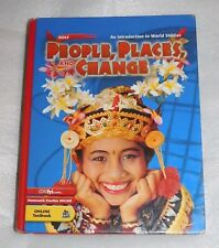 Holt People Places Change World Studies Student Edition 2005 HC Homeschool