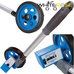 Silverline Measuring Wheel Telescopic Micro 0-999m Metric Compact Distance